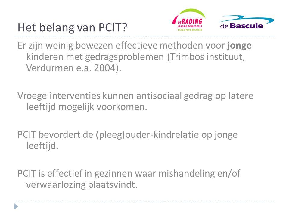 Het belang van PCIT.
