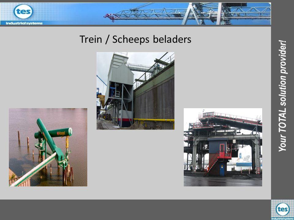 Trein / Scheeps beladers EBS Laurenshaven Nederland FIGEE B.V. Duitsland OBA - Heilig Nederland
