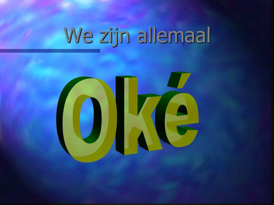 Waarom leidt dit tot drama Ik ben oké Ik ben niet oké Ik ben oké Jij bent niet oké Ik ben niet oké Jij bent niet oké