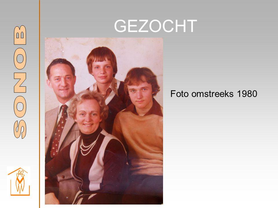 GEZOCHT Foto omstreeks 1980