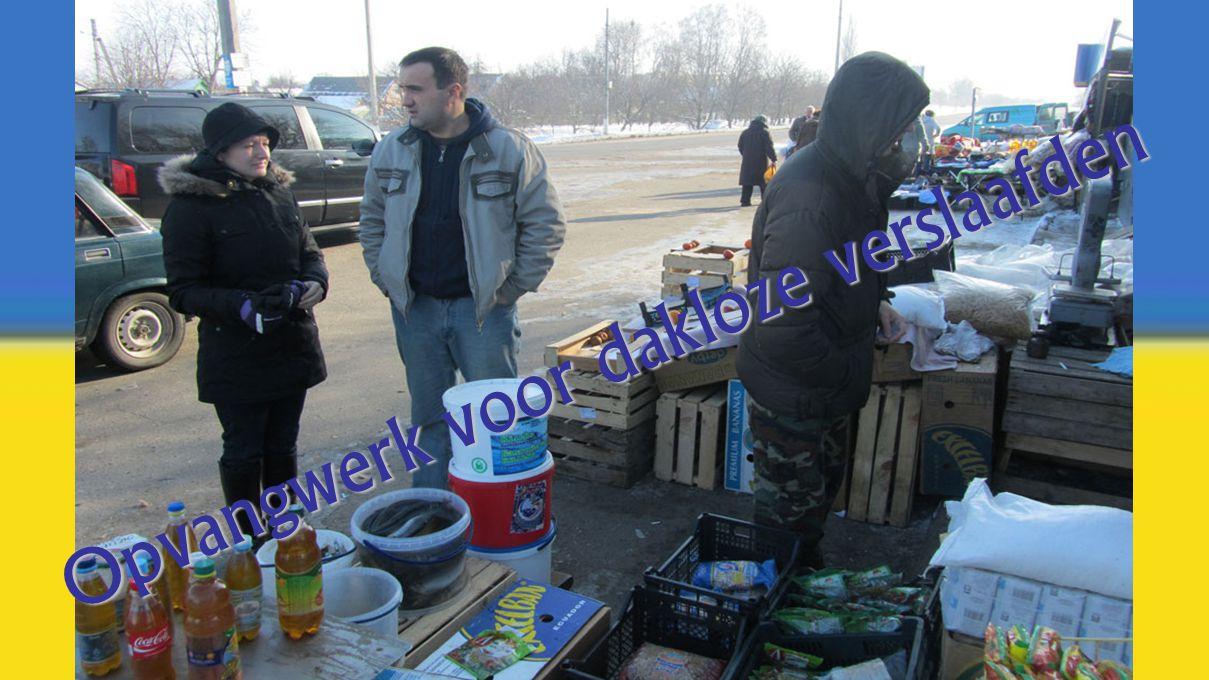Opvangwerk voor dakloze verslaafden