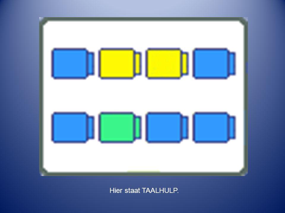 Hier staat TAALHULP.