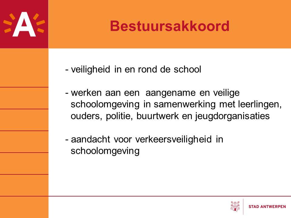 Bestuursakkoord - veiligheid in en rond de school - werken aan een aangename en veilige schoolomgeving in samenwerking met leerlingen, ouders, politie