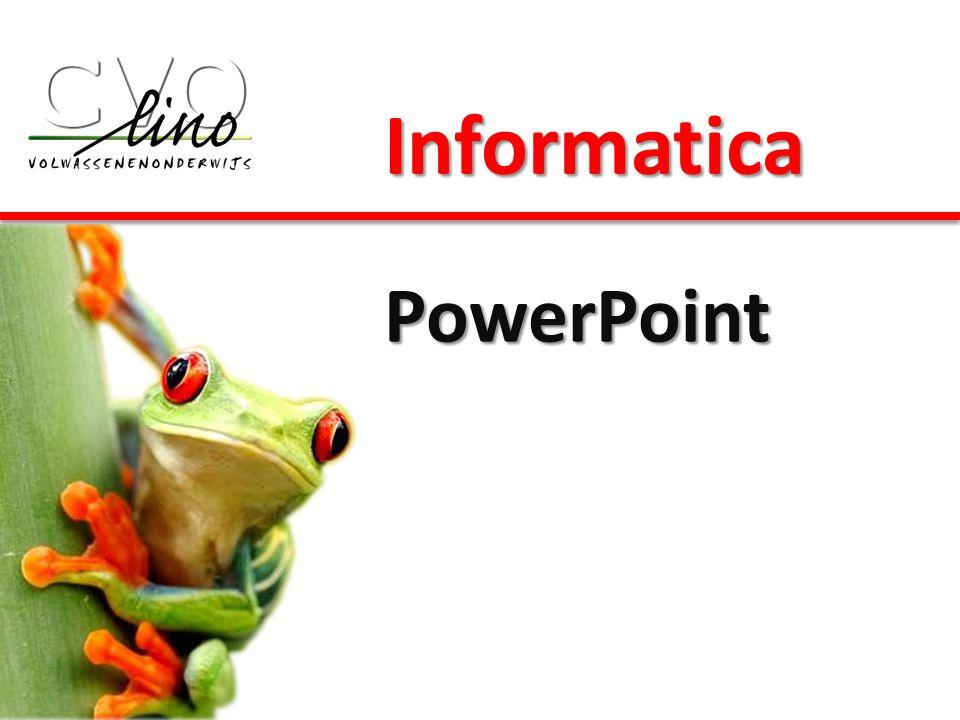 Informatica PowerPoint