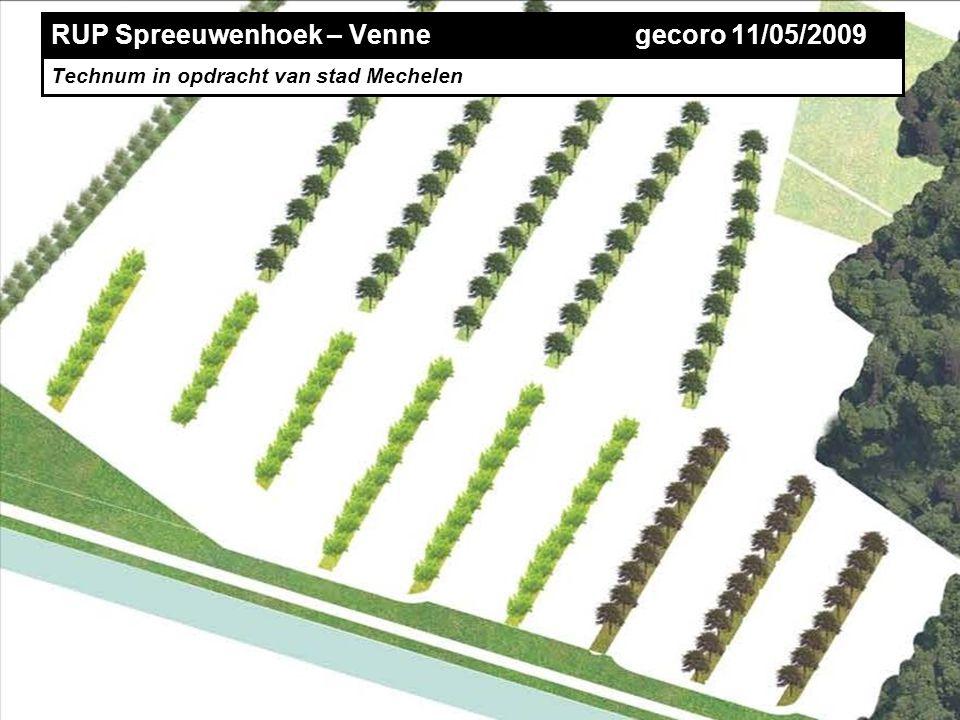 TECHNUM RUP Spreeuwenhoek – Venne gecoro 11/05/2009 Technum in opdracht van stad Mechelen