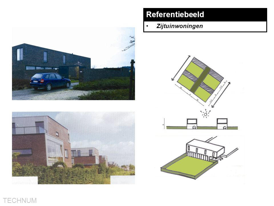 TECHNUM Referentiebeeld •Zijtuinwoningen
