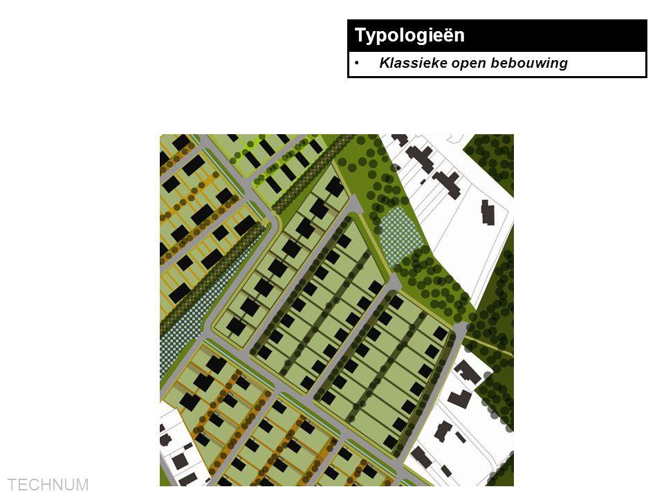 TECHNUM Typologieën •Klassieke open bebouwing