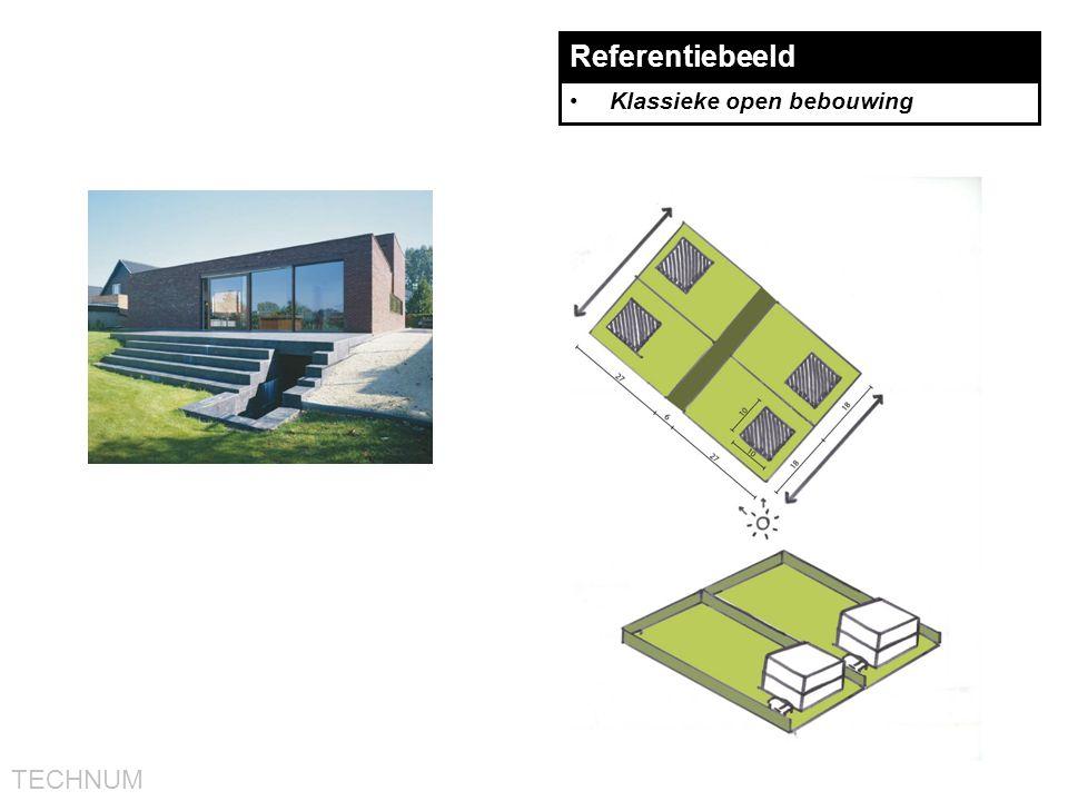 TECHNUM Referentiebeeld •Klassieke open bebouwing