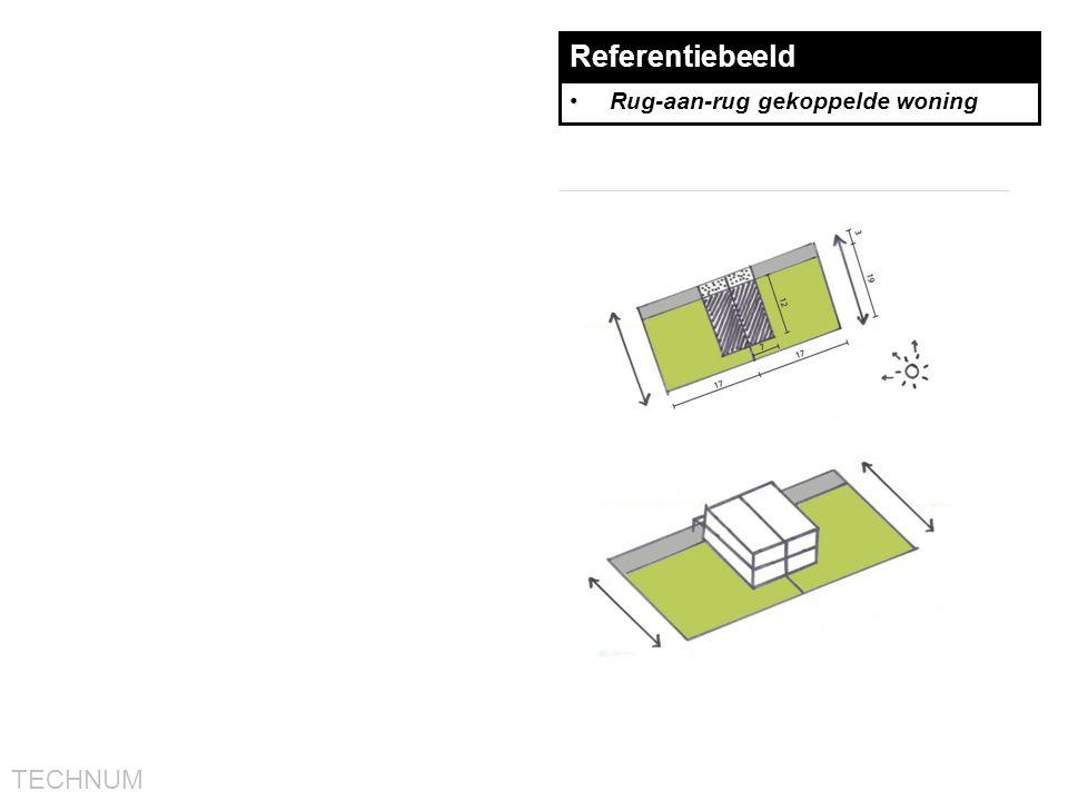 TECHNUM Referentiebeeld •Rug-aan-rug gekoppelde woning