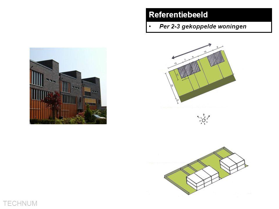 TECHNUM Referentiebeeld •Per 2-3 gekoppelde woningen