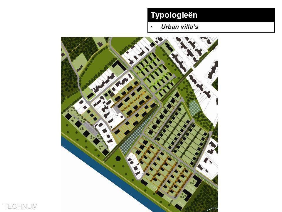 TECHNUM Typologieën •Urban villa's