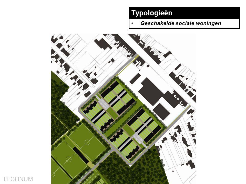 TECHNUM Typologieën •Geschakelde sociale woningen