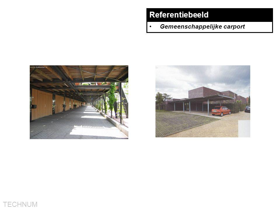 TECHNUM Referentiebeeld •Gemeenschappelijke carport