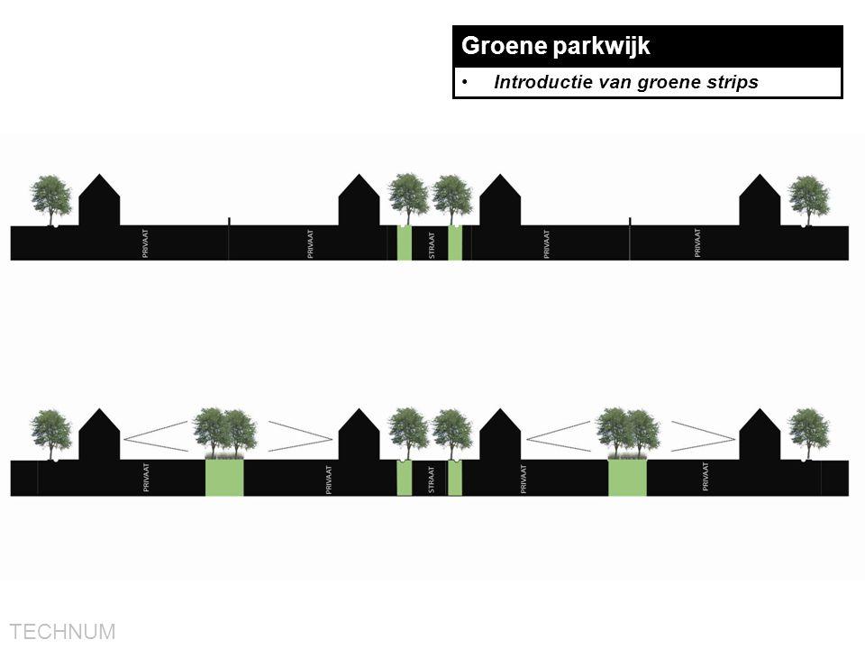 TECHNUM Groene parkwijk •Introductie van groene strips