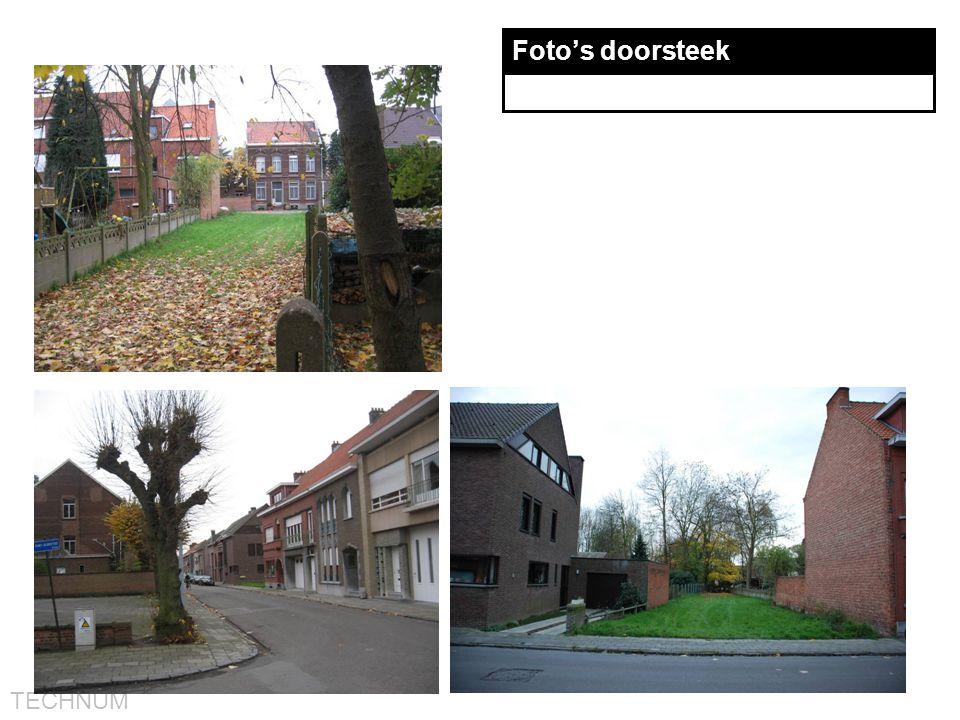 TECHNUM Foto's doorsteek