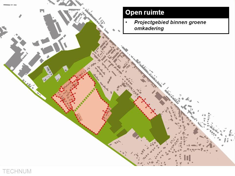 TECHNUM Open ruimte •Projectgebied binnen groene omkadering