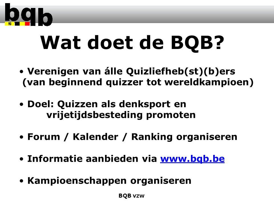 Wat doet de BQB.