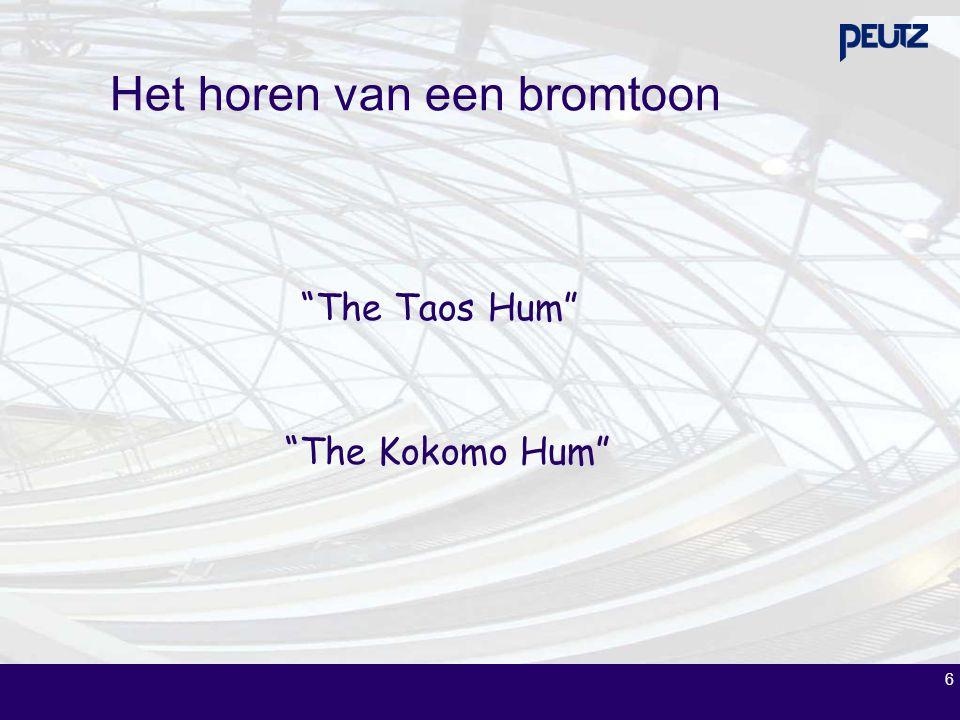 """6 Het horen van een bromtoon """"The Taos Hum"""" """"The Kokomo Hum"""""""