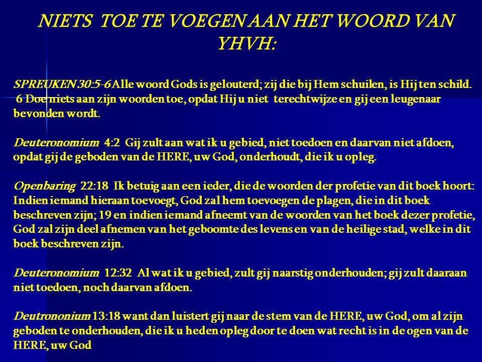 Canon Eyton, De Tien geboden, pp 52,63,65 Er is geen woord, geen hint, in het niewe testament over het zich onthouden van werk op Zondag ….