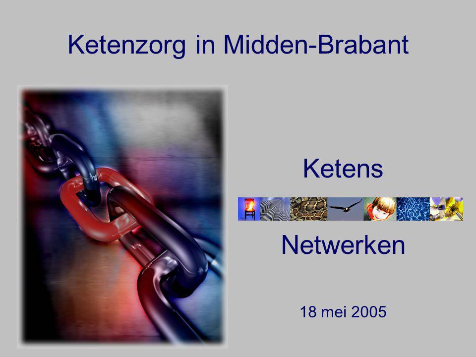 Ketenzorg in Midden-Brabant Ketens Netwerken 18 mei 2005