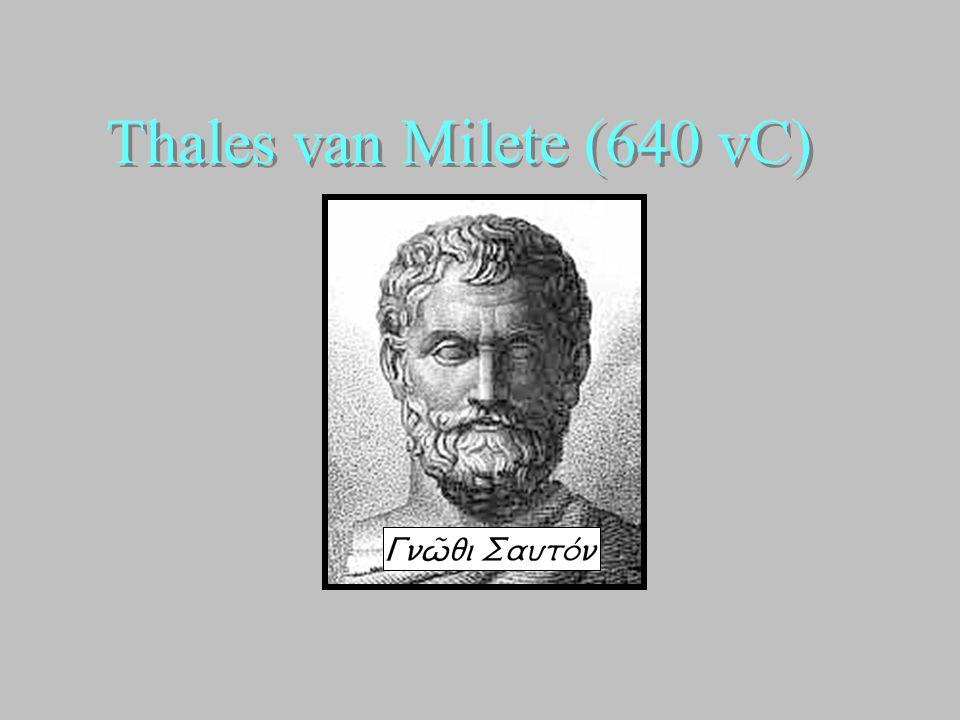 Thales van Milete (640 vC)