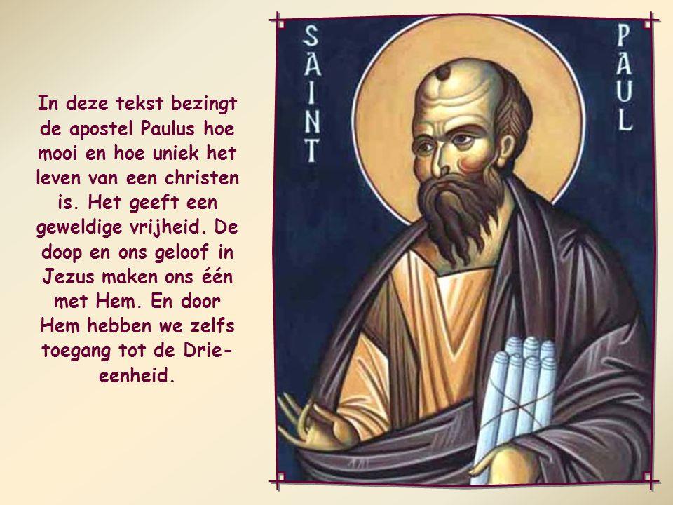 Allen die door de Geest van God worden geleid, zijn kinderen van God. Romeinen 8,14