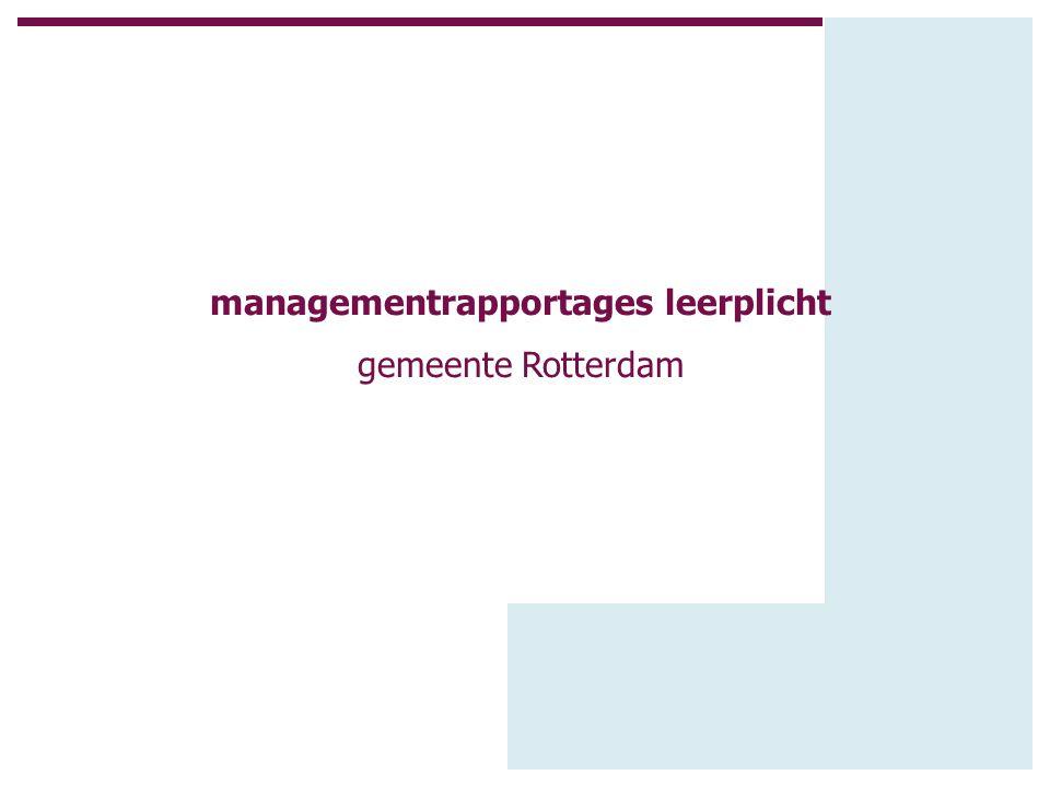 Presentatie.algemene uitgangspunten. maandelijke managementrapportages.
