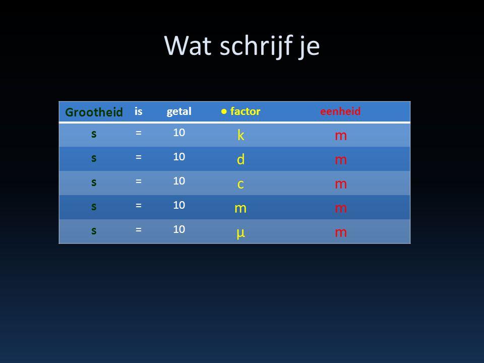 Wat beteken het Zie tabel 3 binas voor de factor 3