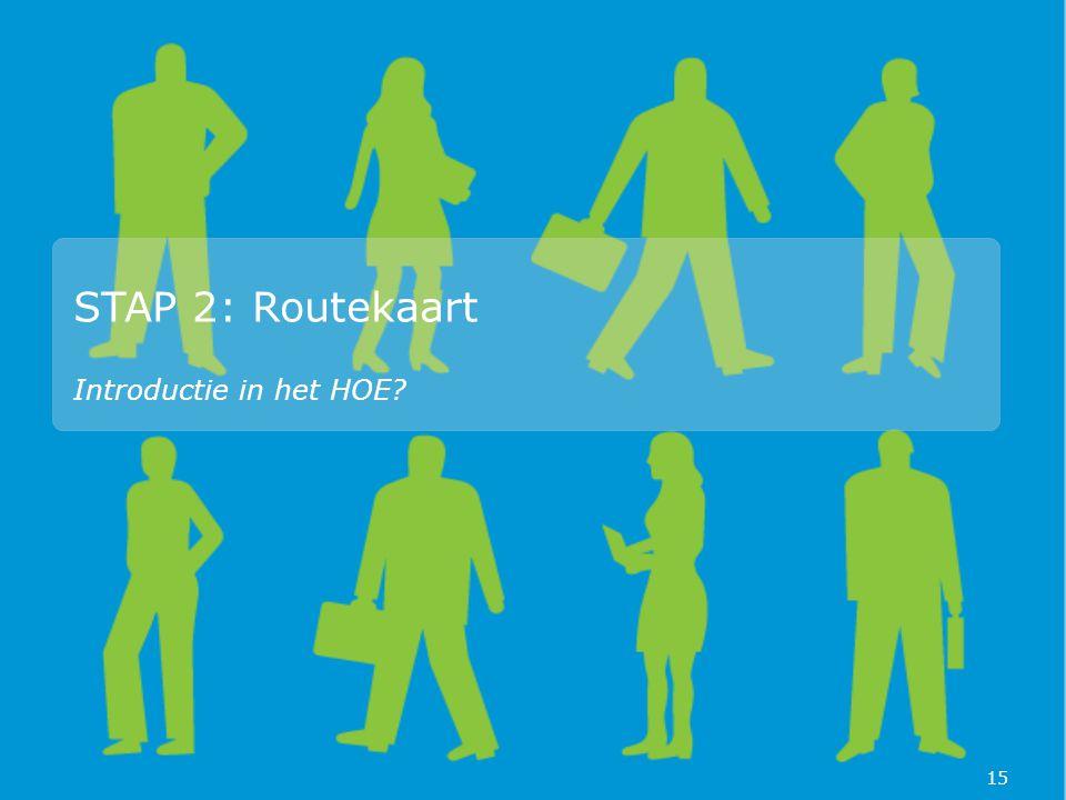 STAP 2: Routekaart Introductie in het HOE 15