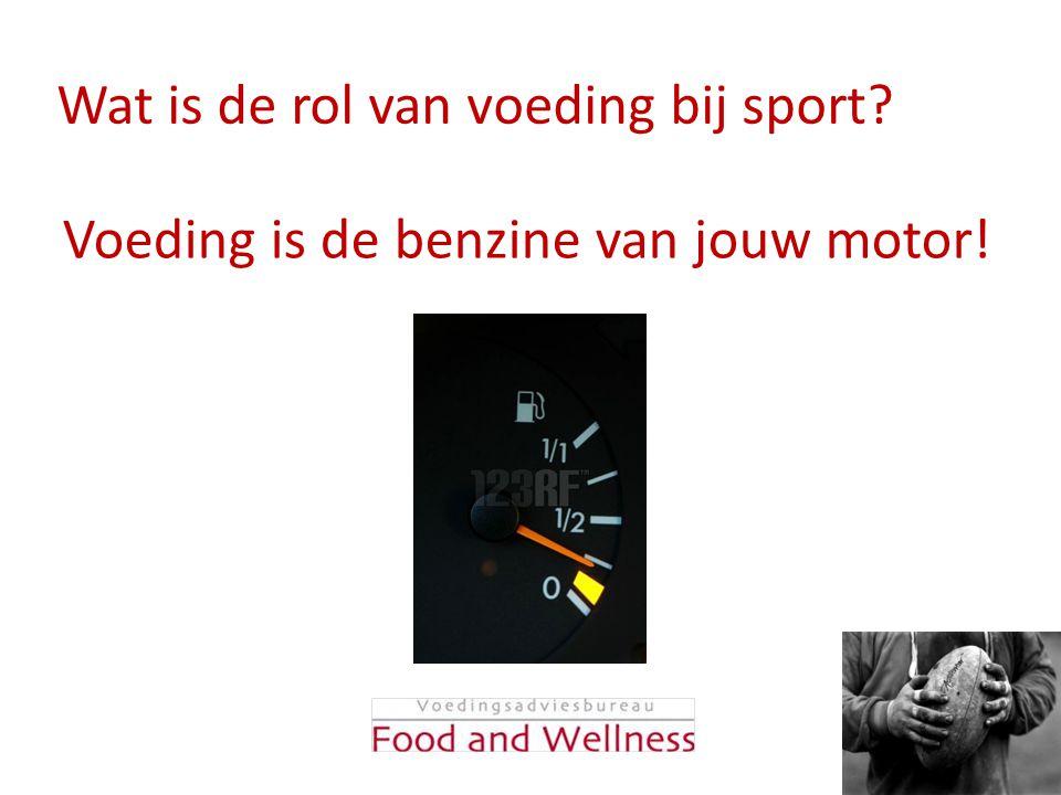 Wat is de rol van voeding bij sport? Voeding is de benzine van jouw motor!