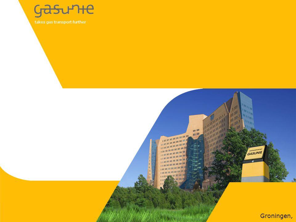 takes gas transport further Groningen,