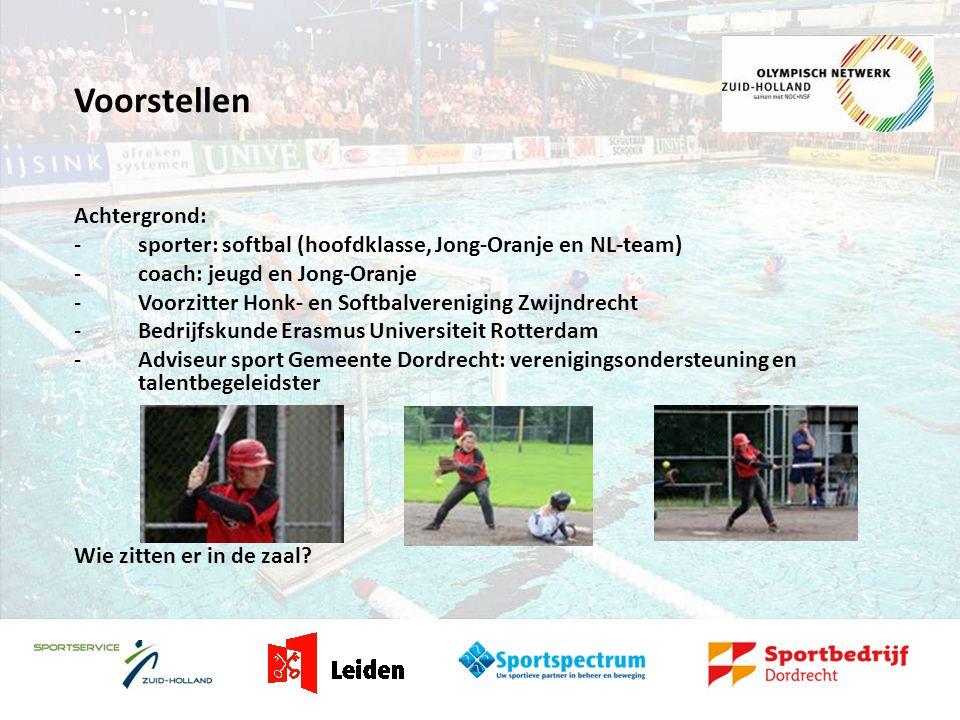Faciliteiten ONZH-regio Dordrecht -Netwerk (para) medische zaken -Netwerk onderwijszaken -Netwerk maatschappelijke zaken -Netwerk sportorganisatorische zaken