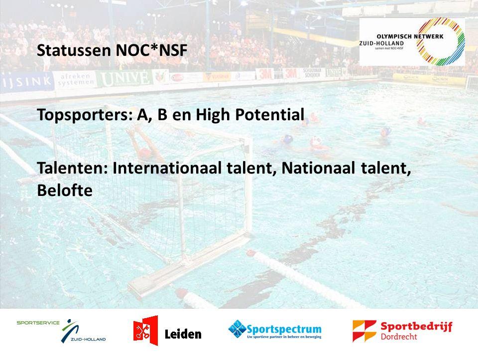Rol Olympisch Netwerk Zuid-Holland Het ONZH houdt zich bezig met: -Het versterken van sportverenigingen -Stimuleren van talentherkenning en talentontwikkeling en het bevorderen van de doorstroom van regionale naar landelijke talenten -Creëren van randvoorwaarden en faciliteiten voor talenten en topsporters
