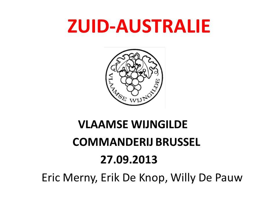 ZUID-AUSTRALIE VLAAMSE WIJNGILDE COMMANDERIJ BRUSSEL 27.09.2013 Eric Merny, Erik De Knop, Willy De Pauw