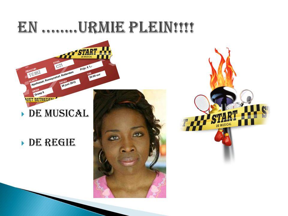  De musical  De Regie