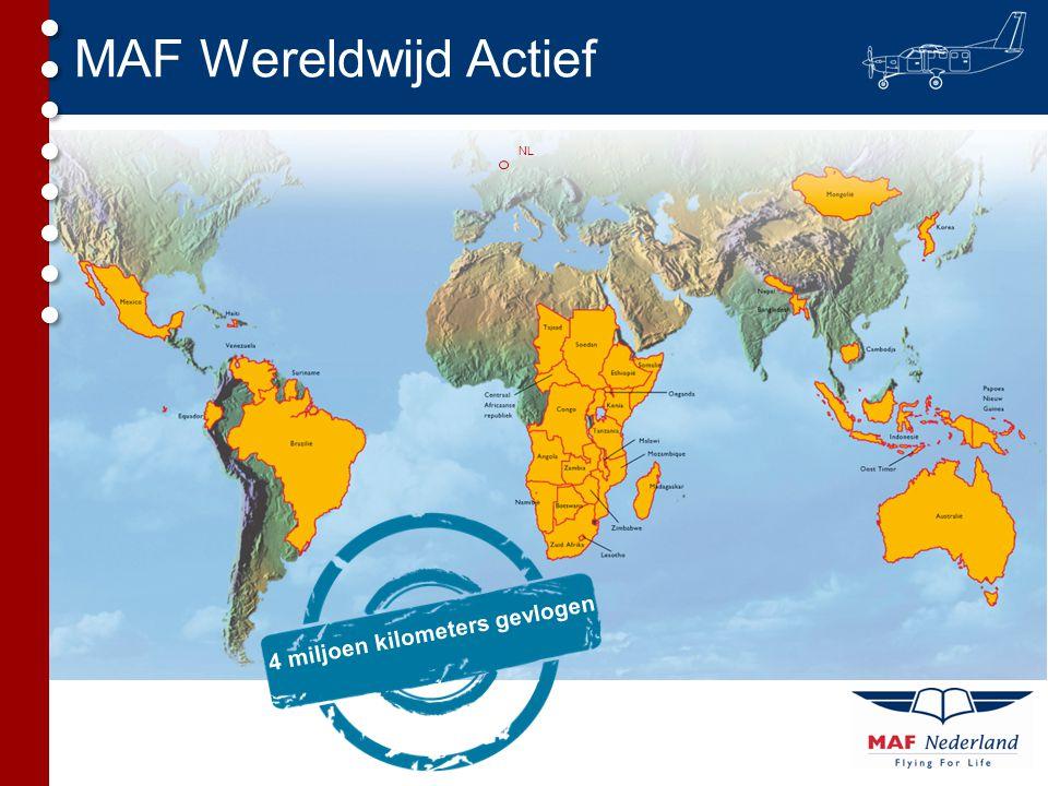 NL MAF Wereldwijd Actief 4 miljoen kilometers gevlogen