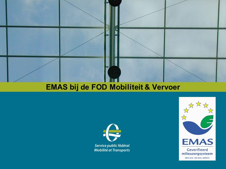 EMAS bij de FOD Mobiliteit & Vervoer