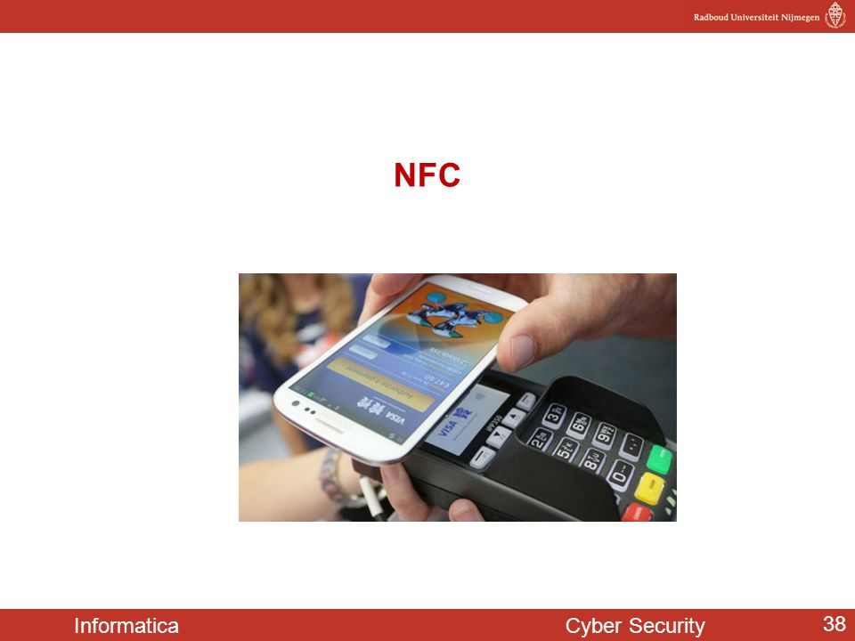 Informatica Cyber Security 38 NFC