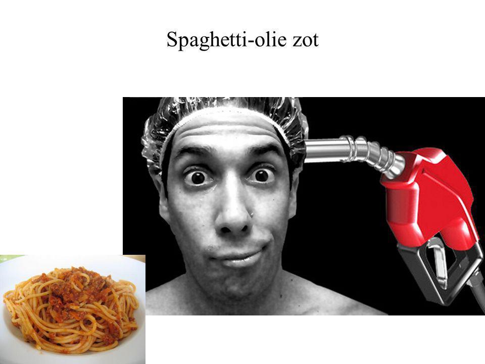 Spaghetti-olie zot