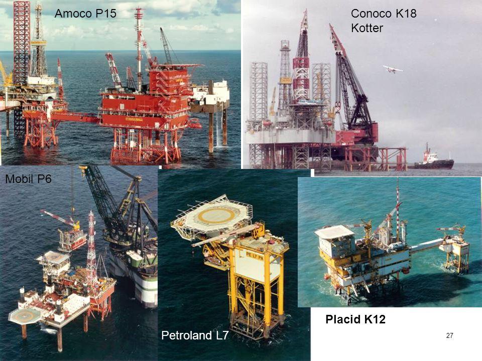 35 JAAR IRO 26 1974 EERSTE GASPRODUCTIE PLATFORM IN DE NL SECTOR PLACID L/10-A