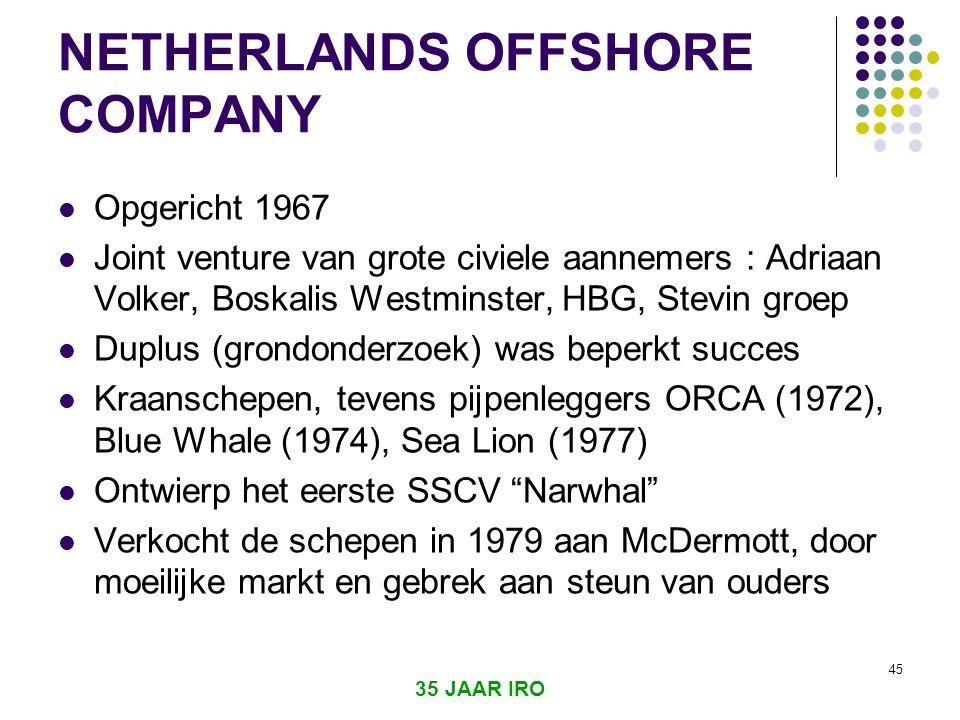 35 JAAR IRO 44 FUGRO Offshore, sept 2006 : 3 artikelen over/door Fugro 2 blz grote advertenties