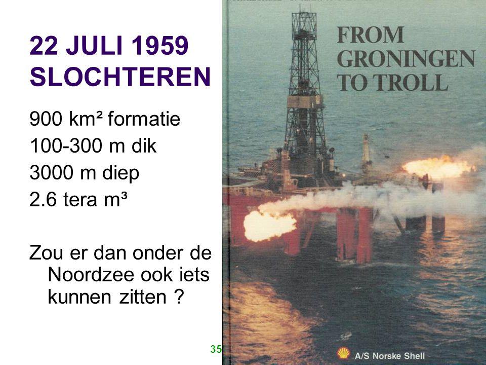 35 JAAR IRO 8 VERDELING NOORDZEE Nederlandse plat is ca 57000 km² Verdeling volgens UN Verdrag van Geneve, 1958 Ratificatie door Nederland in 1964