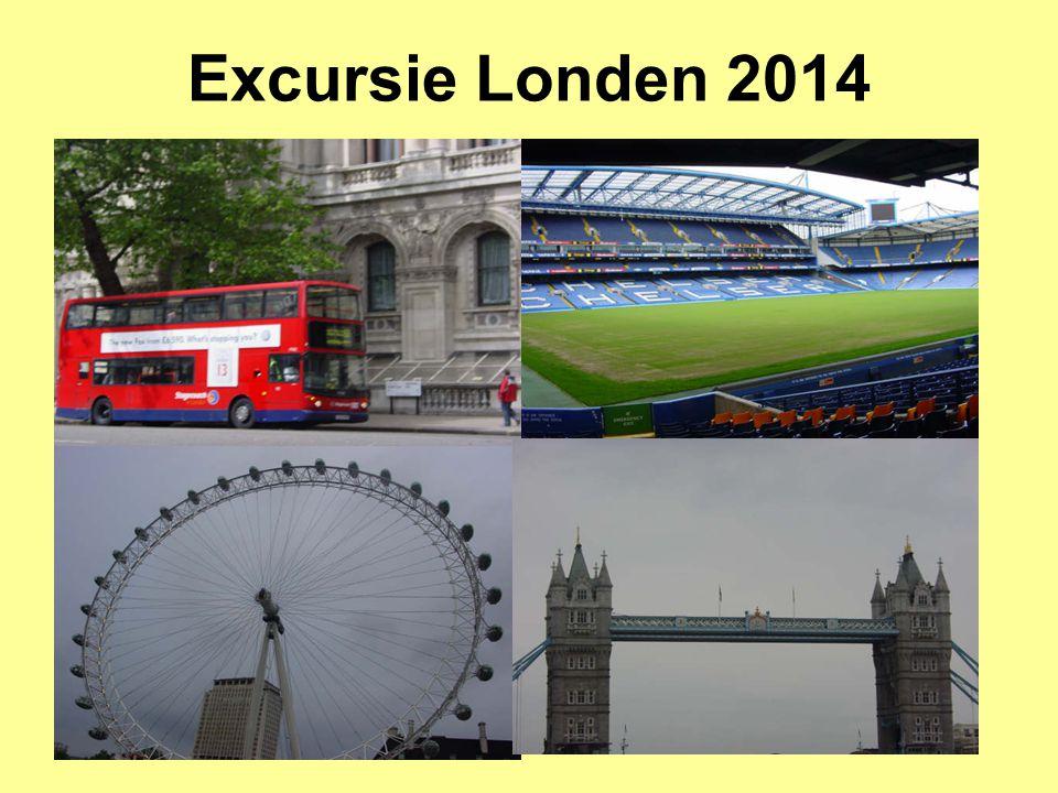 Excursie Londen 2014