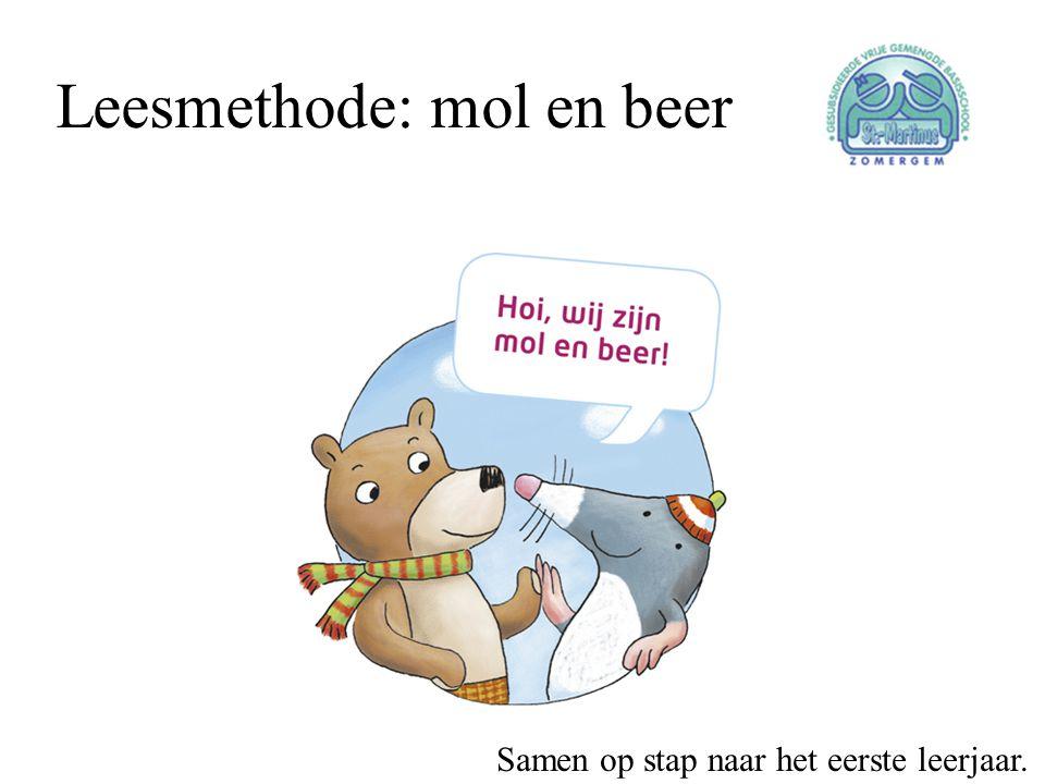 Leesmethode: mol en beer Samen op stap naar het eerste leerjaar.