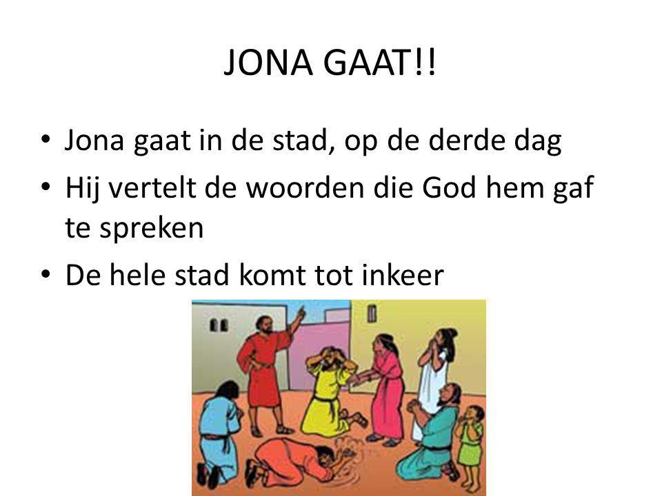JONA GAAT!.