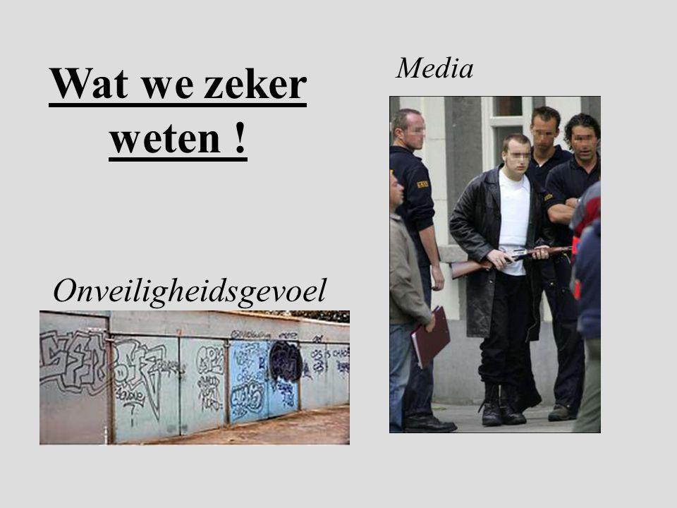 Wat we zeker weten ! Onveiligheidsgevoel Media