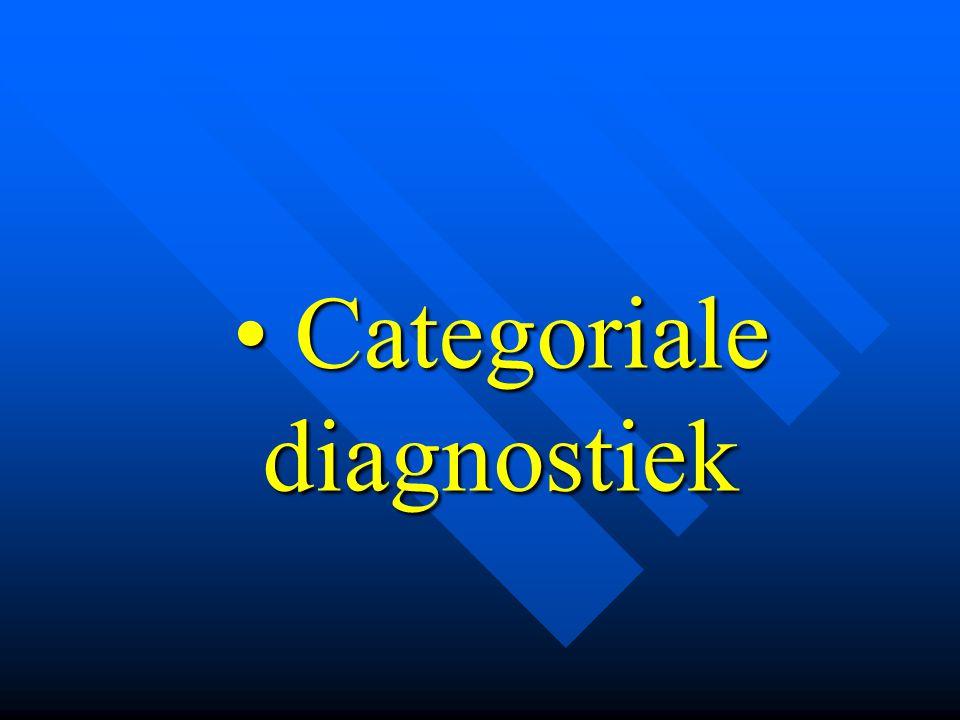 CVS- diagnose (CDC, 1994)  abnormale vermoeidheid, > 6 maanden, niet organisch of psychiatrisch verklaard niet organisch of psychiatrisch verklaard  minstens 4 bijkomende klachten: –verspreide spier- of gewrichtspijnen fibromyalgie –hoofdpijn –keelpijn / klierzwellingen –concentratie en geheugenstoornissen –niet-uitrustende slaap –vertraagd herstel na inspanning
