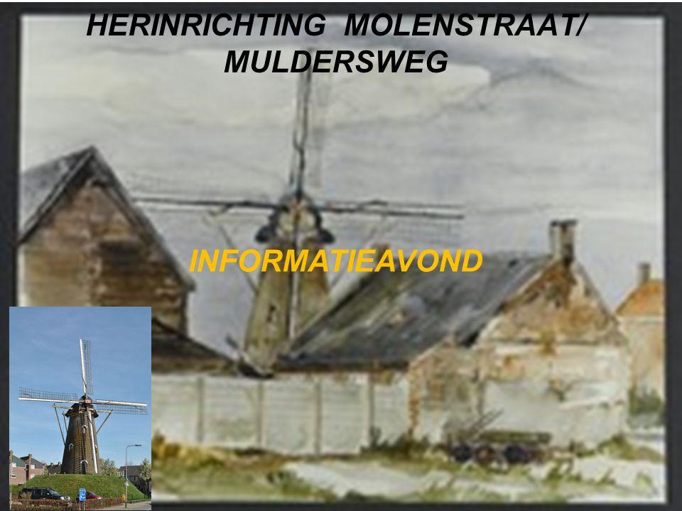HERINRICHTING MOLENSTRAAT/ MULDERSWEG INFORMATIEAVOND