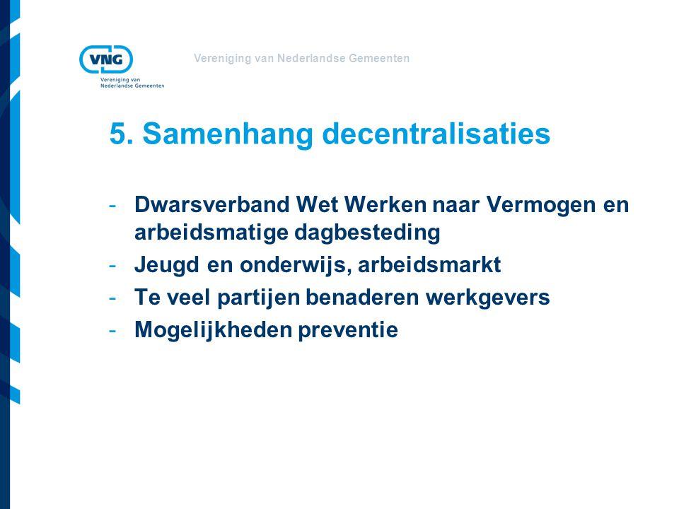 Vereniging van Nederlandse Gemeenten 5.