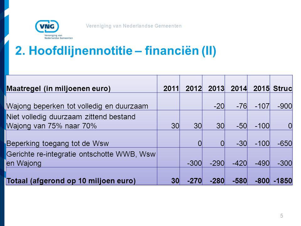 Vereniging van Nederlandse Gemeenten Aanbevelingen SW Werken naar vermogen is een gedeelde opgave.